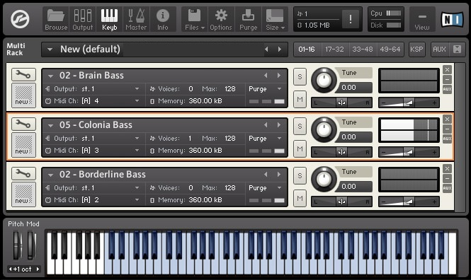 Colour Sonics Bass Massiva MULTiFORMAT DVD, samples audio, MULTiFORMAT, DVD, Bass