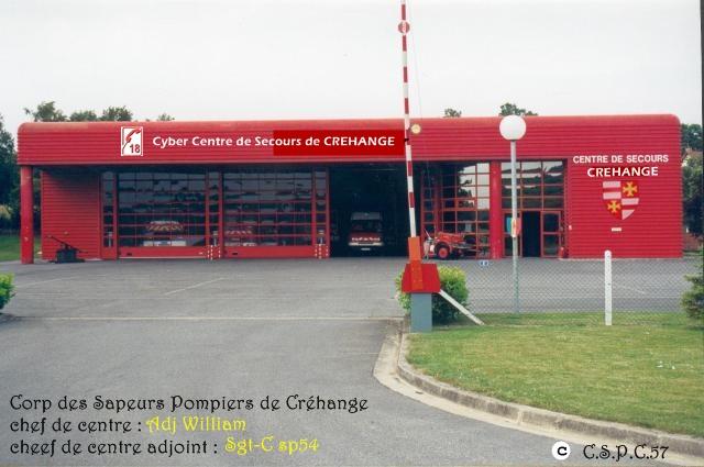 Corp des Sapeurs Pompiers de Créhange (57) Index du Forum