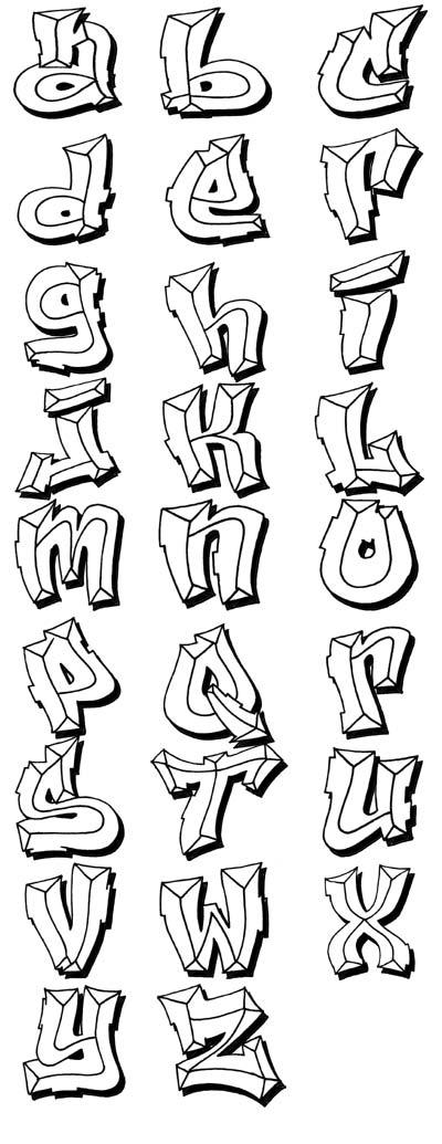 Nuevas Letras Para Graffitis!