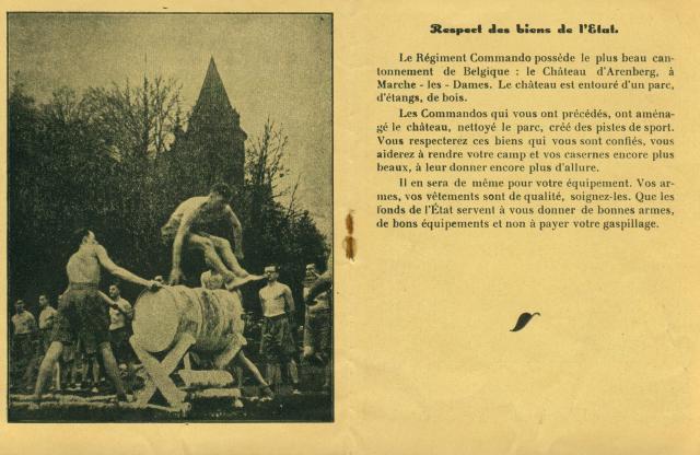 Commando, acceuil au Régiment Albert008-11edc83